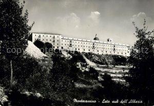 AK / Ansichtskarte Montecassino Lato sud dell Abbazia Montecassino