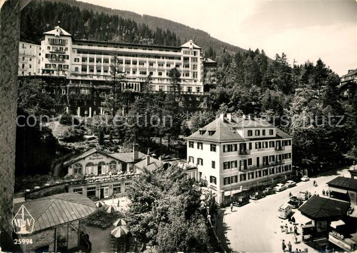 AK / Ansichtskarte Badgastein Hotel Bellevue Badgastein