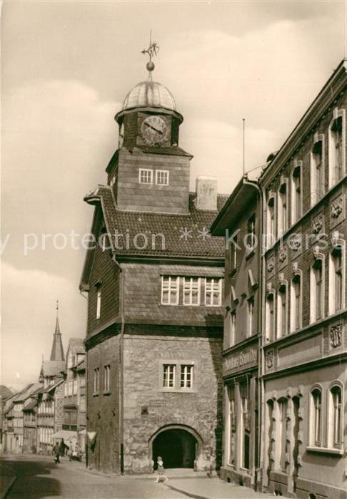 AK / Ansichtskarte Bleicherode Rathaus Bleicherode