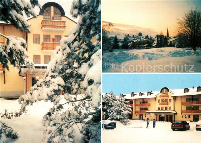 AK / Ansichtskarte Wegscheid_Niederbayern Landhotel Rosenberger Wegscheid Niederbayern