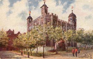 AK / Ansichtskarte Verlag_Tucks_Oilette_Nr. 6476 White Tower London Charles E. Flower
