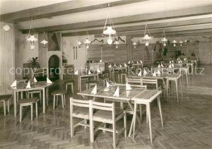 AK / Ansichtskarte Oberhof_Thueringen Serbisches Bauernrestaurant Oberhof Thueringen