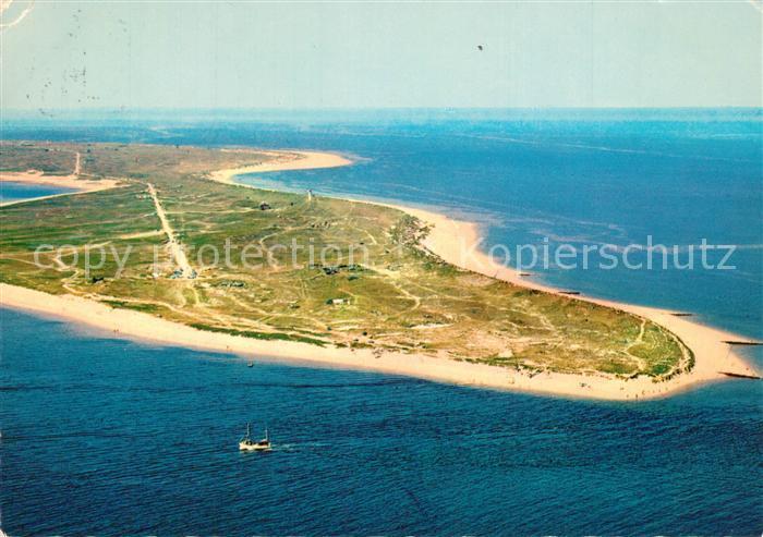 AK / Ansichtskarte Insel_Sylt Fliegeraufnahme mit Ellenbogen Insel_Sylt