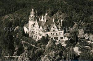 AK / Ansichtskarte Meinhard Schloss Wolfsbrunnen Fliegeraufnahme Meinhard