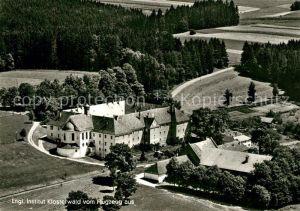 AK / Ansichtskarte Klosterwald Englisches Institut Fliegeraufnahme Klosterwald