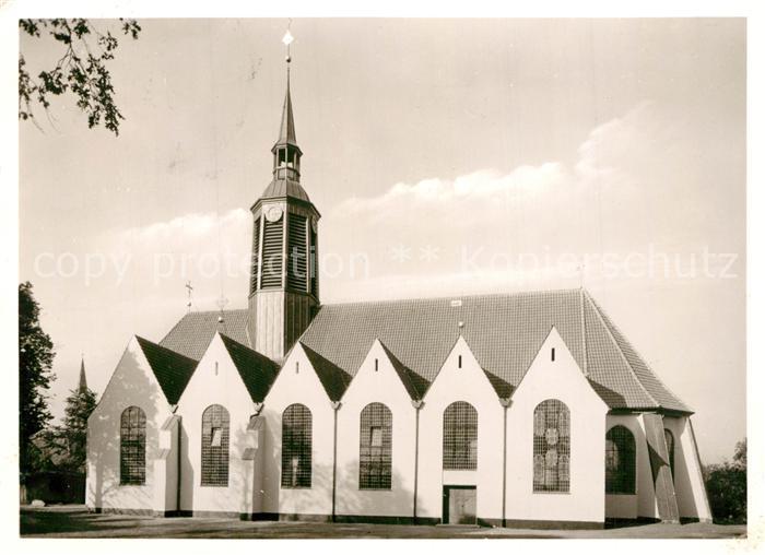AK / Ansichtskarte Hermannsburg Ev luth Peter Paulskirche Hermannsburg
