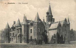 AK / Ansichtskarte Rumbeke_West Vlaanderen Het Kasteel Rumbeke_West Vlaanderen