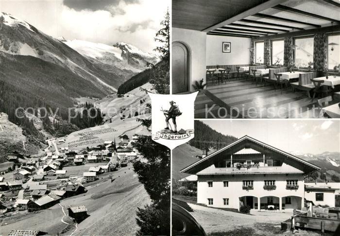 AK / Ansichtskarte Lanersbach Gasthof zum Jaegerwirt Zillertal Alpen Lanersbach
