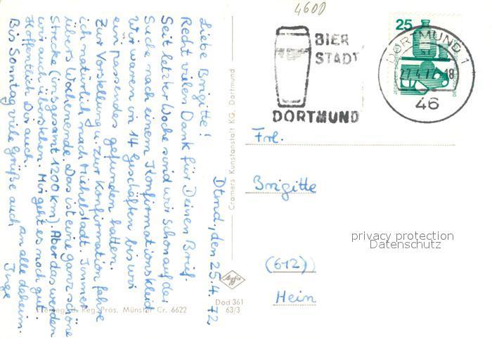 AK / Ansichtskarte Dortmund Westfalenpark Florianturm Fliegeraufnahme Dortmund 1