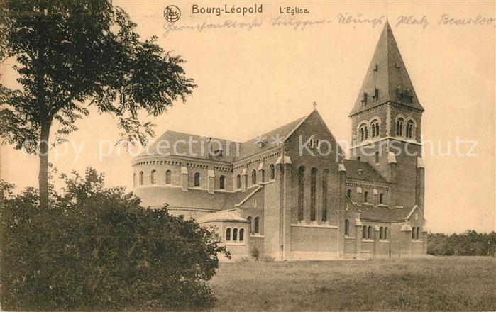 AK / Ansichtskarte Bourg Leopold Eglise Bourg Leopold