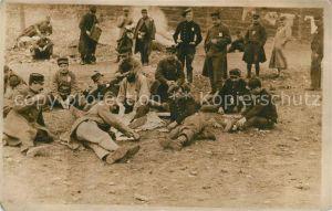 AK / Ansichtskarte Militaria_Kriegsgefangene Franzosen Lager Ohrdruf Militaria Kriegsgefangene