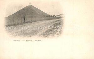 AK / Ansichtskarte Waterloo La Pyramide Waterloo