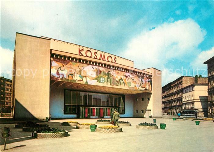 AK / Ansichtskarte Szczecin_Stettin Kino Kosmos Szczecin_Stettin