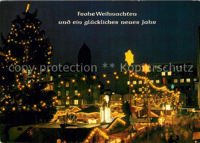 AK / Ansichtskarte Dortmund Weihnachtsmarkt Dortmund