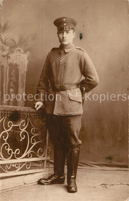 AK / Ansichtskarte Militaria_WK1 Uniform Militaria WK1