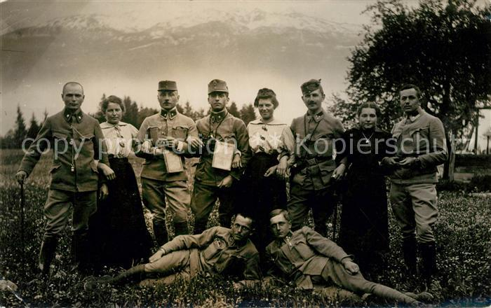 AK / Ansichtskarte Militaria_WK1 Alpen Militaria WK1