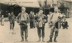 AK / Ansichtskarte Militaria_Frankreich_WK1 Taucher Catastrophe de Courrieres