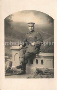 AK / Ansichtskarte Militaria_Deutschland_WK1 Landwehr Unifrom Orden