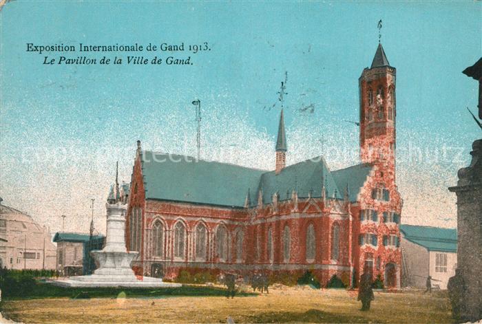 AK / Ansichtskarte Gand_Belgien Exposition Internationale Pavillon de la Ville de Gand Gand Belgien
