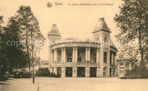 AK / Ansichtskarte Gand_Belgien Casino Ambulance de la Croix Rouge Gand Belgien