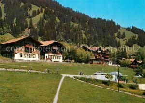 AK / Ansichtskarte Adelboden Hotel Pension Hari Schlegeli Adelboden