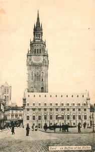 AK / Ansichtskarte Gand_Belgien Le Beffroi et les Halles Gand Belgien