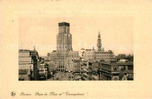 AK / Ansichtskarte Anvers_Antwerpen Place de Meir et Torengebouw Anvers Antwerpen