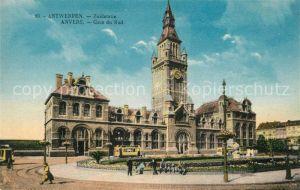 AK / Ansichtskarte Anvers_Antwerpen Gare du Sud Bahnhof Anvers Antwerpen