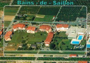 AK / Ansichtskarte Saillon_les_Bains Station de cure et de vacances Vue aerienne