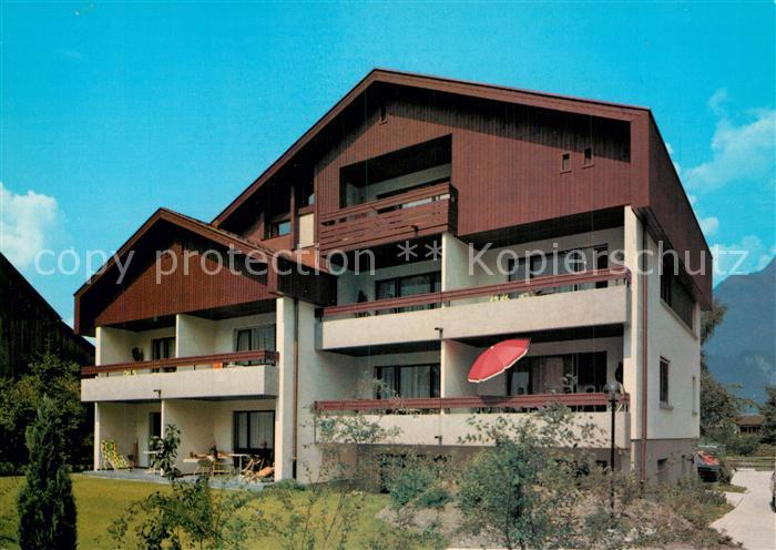 AK / Ansichtskarte Bad_Ragaz OSKA Haus Bad_Ragaz