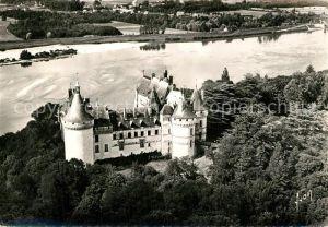 AK / Ansichtskarte Chaumont sur Loire Chateau de la Loire Vue aerienne Chaumont sur Loire