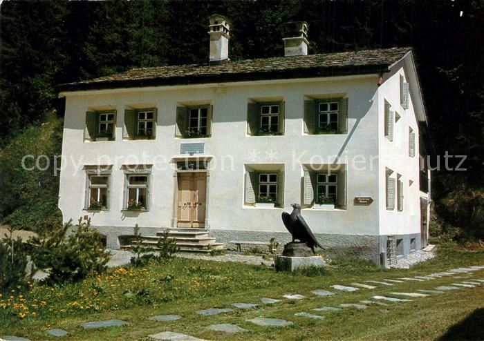 AK / Ansichtskarte Sils_Maria_Graubuenden Nietzsche Haus Sils_Maria_Graubuenden