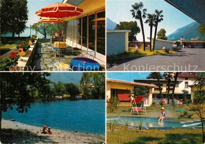 AK / Ansichtskarte Melano Maraggion Motel Lido Melano