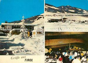AK / Ansichtskarte Brixen_Suedtirol Wintercampingplatz Restaurant Brixen im Tale Brixen Suedtirol