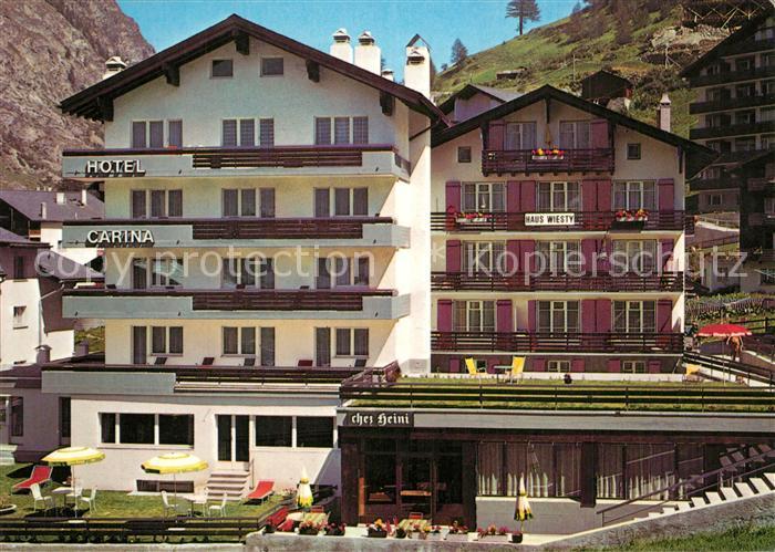 AK / Ansichtskarte Zermatt_VS H. und F. Biner Zermatt_VS