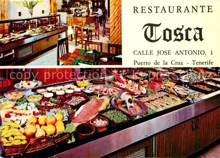 AK / Ansichtskarte Puerto_de_la_Cruz Restaurant Tosca Puerto_de_la_Cruz