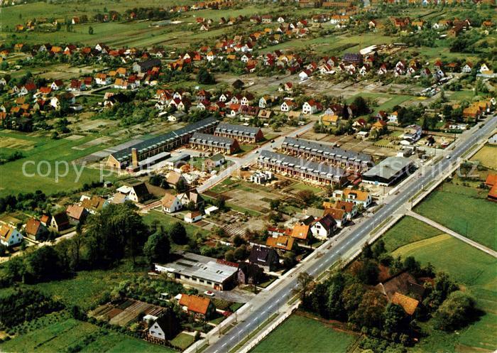 AK / Ansichtskarte Bremen Fliegeraufnahme Gebhardt Gruppe Wohnhaeuser Bremen