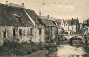AK / Ansichtskarte Audenarde Burgschelder Audenarde