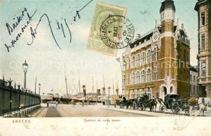 AK / Ansichtskarte Anvers_Antwerpen Quartier du vieux bassin Anvers Antwerpen