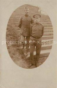 AK / Ansichtskarte Militaria_Deutschland_WK1 Kriegsgefangene Lager Magdeburg Franzosen