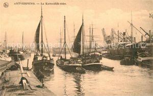 AK / Ansichtskarte Antverpeno La Kattendijk doko Hafen Serie 3 No. 26