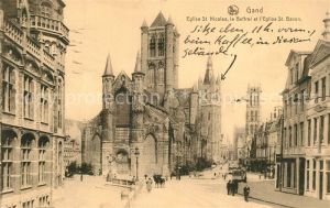AK / Ansichtskarte Gand_Belgien Eglise Saint Nicolas le Beffroi Cathedrale Saint Bavon Serie 3 No 56 Gand Belgien
