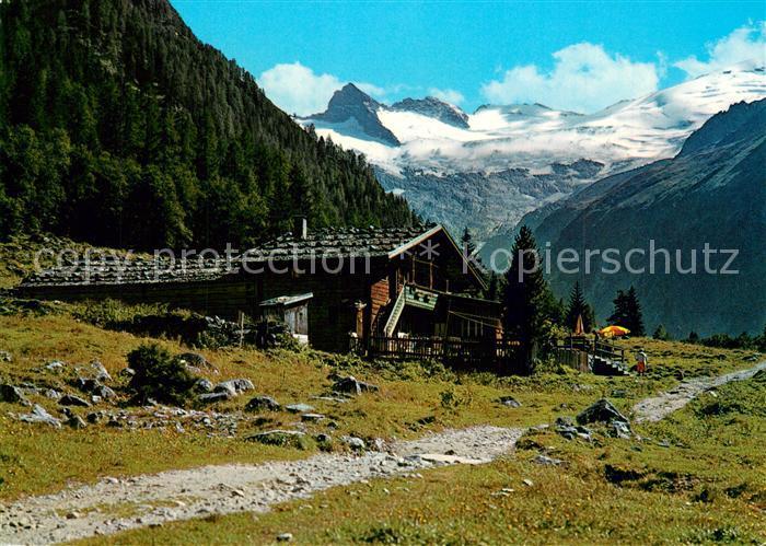 AK / Ansichtskarte Habachtal Alpengasthof Enzian Habachtal