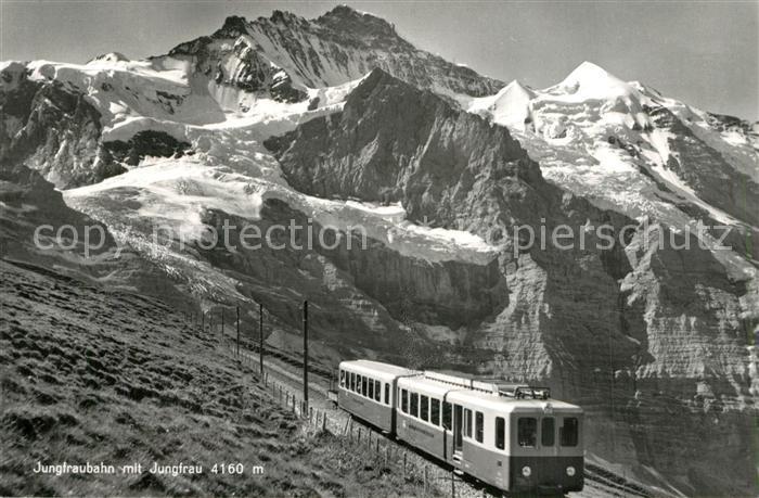 Jungfraujoch Alte Postkarte Kleine Scheidegg
