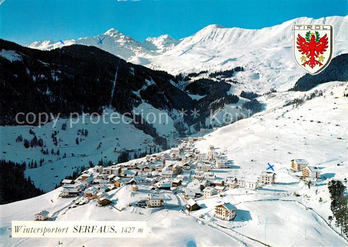 Ak Ansichtskarten Heimatbelege Aus Serfaus In Tirol