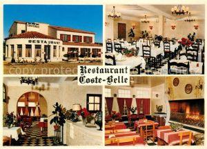 AK / Ansichtskarte Saint Bonnet du Gard Restaurant Coste Belle Gastraeume Saint Bonnet du Gard