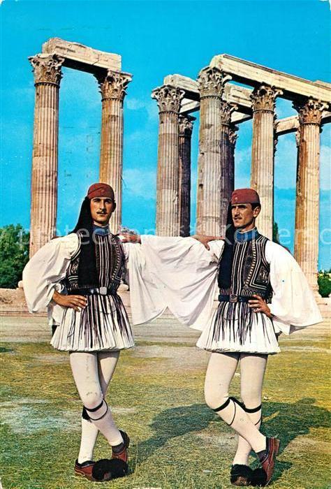 AK / Ansichtskarte Leibgarde_Wache Griechenland Evzonen
