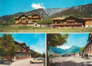 AK / Ansichtskarte Adelboden Pension Hari Alpen Adelboden
