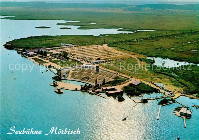 AK / Ansichtskarte Moerbisch_See Fliegeraufnahme Moerbisch See