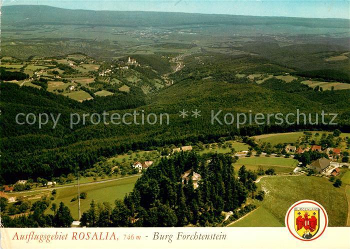 AK / Ansichtskarte Forchtenstein Fliegeraufnahme Rosalia Burg Forchtenstein